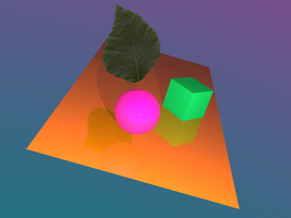 CPSC 212 Raytracer Version 1.0 by eyepatchalex