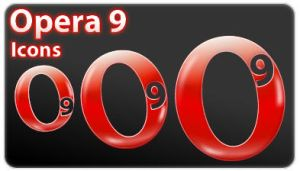 Opera 9 by skingcito