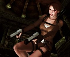 Lara_Croft_Action by ivedada