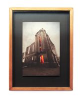 Saint Boniface Cathedral 12 Pic Pano Framed Print by Joe-Lynn-Design