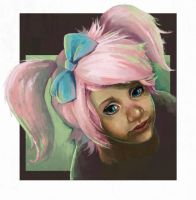 WoW Gnome speedpaint by tr1ff1d