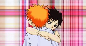 Ichigo and Tatsuki by BloodLilium