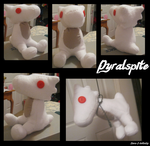 Pyralspite plushie by Tooncrab