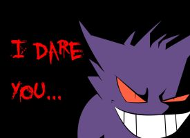 Pokemon: I dare you wallpaper by firenight617