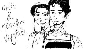 Orlis and Hirmina 2 by Linxcat