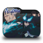 Ao no Exorcist Folder Icon by AinoKanade