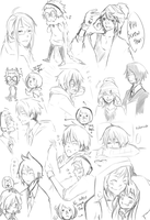 MM - my feels sketches by chaisuke