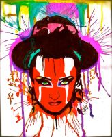 Boy George by ash-sheridan