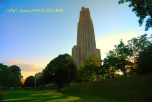 The Cathedral of learning by pjs15204