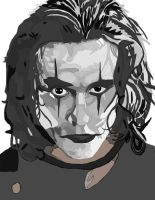 The Crow Pen (Brandon Lee) work 4 by daylover1313