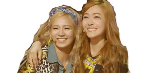 SNSD Hyoyeon and Jessica HyoSica ~PNG~ by JaslynKpopPngs