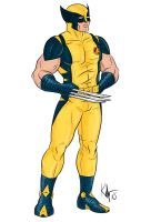 Heroic Age Wolverine by Kaufee