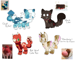 Sugar Cats Collab Auction // OPEN by catpaths