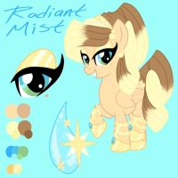 Radiant Mist OC Ref sheet by EmR0304
