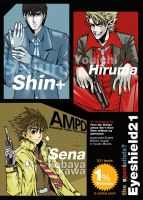 Eyeshield21 - Shin-Sena-Hiruma by shinjyu