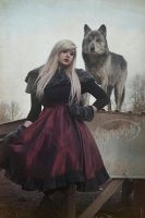 wolf and girl 2 by KMKostumes
