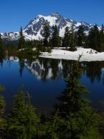 Mount Shuksan by dsiegel