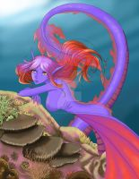 Dragon Mermaid by Arrevanthas