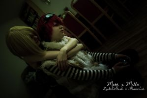 Death Note - Matt x Mello - Attention, now! by HeavenCatTheRealOne