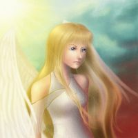 Between Heaven and Hell by ChildOfMoonlight