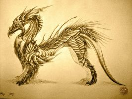 Unusual Dragon by EnigmaticPhantasy