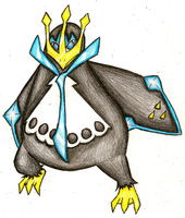 Empoleon by 4themindandsoul