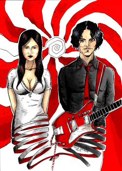 The White Stripes-colored- by CenkGUNGOR