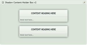 Shadow Content-holder box v2 by CypherVisor