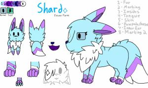 Shard's Ref - Eevee (Currently Up to Date) by ShardLovesPotatoes