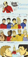 Star Trek Remix Meme by student-yuuto