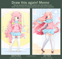 Draw this Again - 2013 - 2014 by LeKatherina