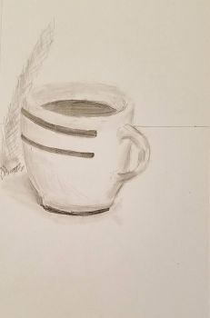 WIP - coffee cup by EdwardsOtherSide