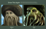 Davy Jones - Draw This Again by elz-art