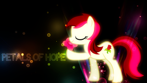 'Petals of Hope' Roseluck Wallpaper by BlueDragonHans