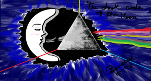 The Dark side of the Moon by Boucless