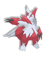 Mega Zangoose by ForiegnBacon