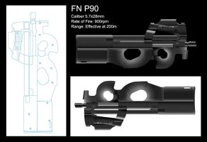 FN P90 by mystech
