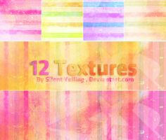 12 Textures , by Silent-yelling