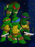 TMNT kids! by DominicanFlavor