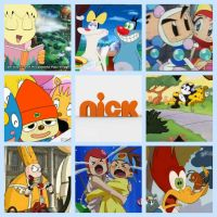 Nick Plus Collage/WallPaper by Tommypezmaster