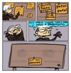 The Witcher 3, doodles 102 by Ayej