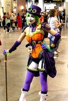 Duela Dent at Denver Comic Con 2013 by Jisatsu-Saakuru