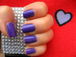 Lilac nails part1 by xzibitka
