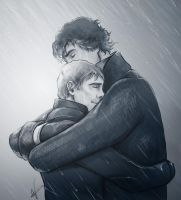 Sherlock x Watson BBC - It was all for you by VoydKessler