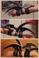 Misa Amane's Right Arm Blades by Javdaneh
