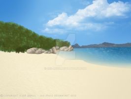Beach landscape by isis-misis