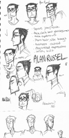 The Note character sketches by tsunefish
