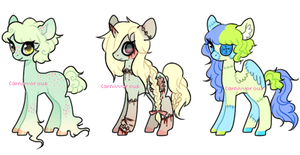 CLOSED - Random+horror themed ponies by Carnivvorous