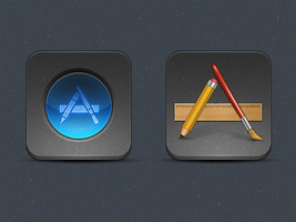 Early iPad 3 theme [WIP] by MrAronsson