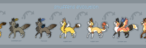 Snuffen Evolution by griffsnuff
